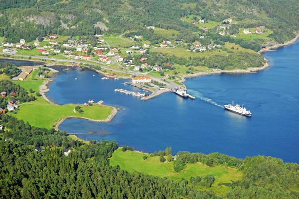 Leirvag Harbour