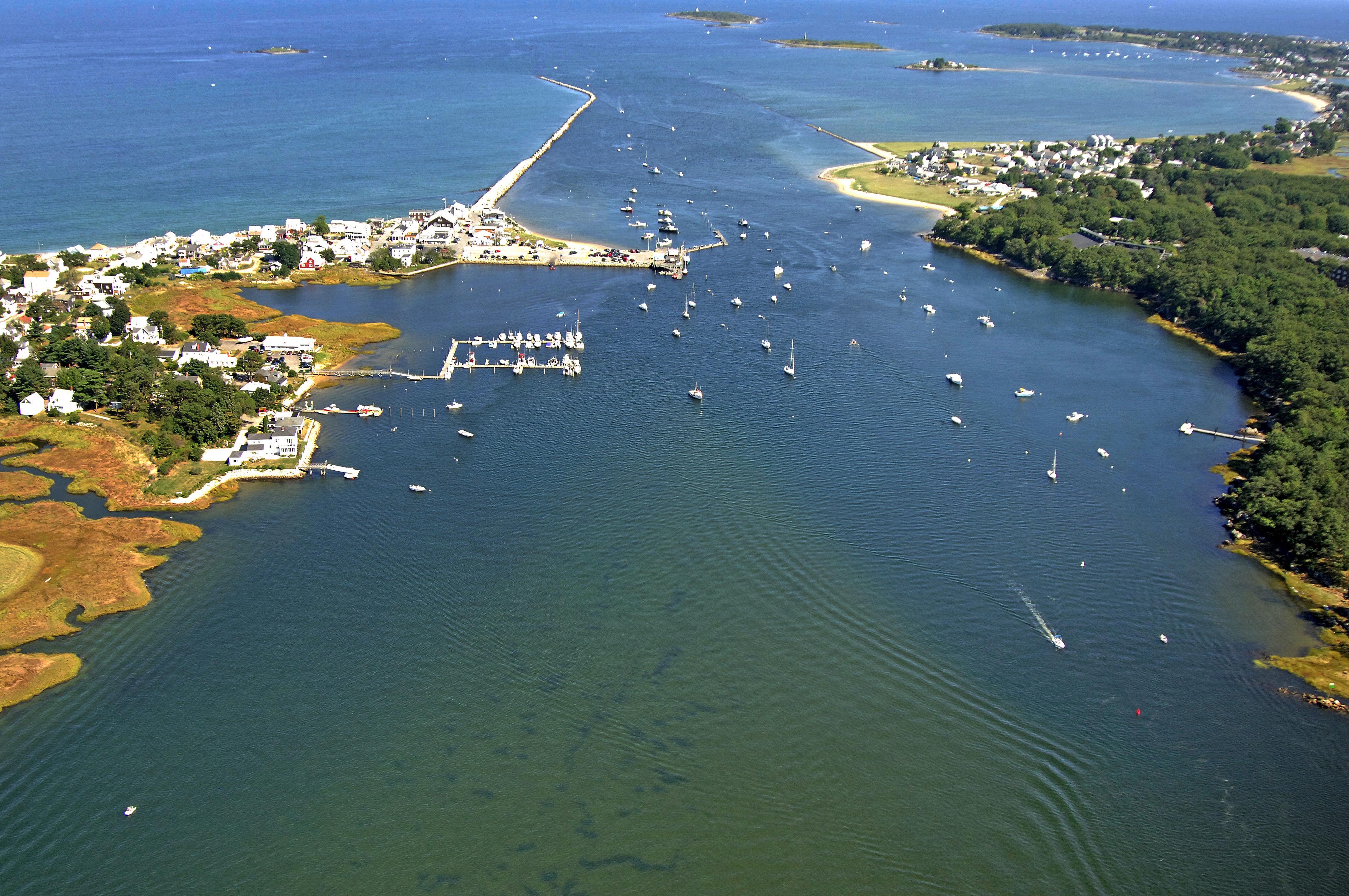 Saco River At Camp Ellis Harbor In Me United States Harbor Reviews Phone Number Marinas Com
