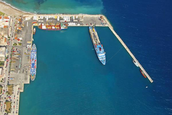 Korinthos Industrial Harbour