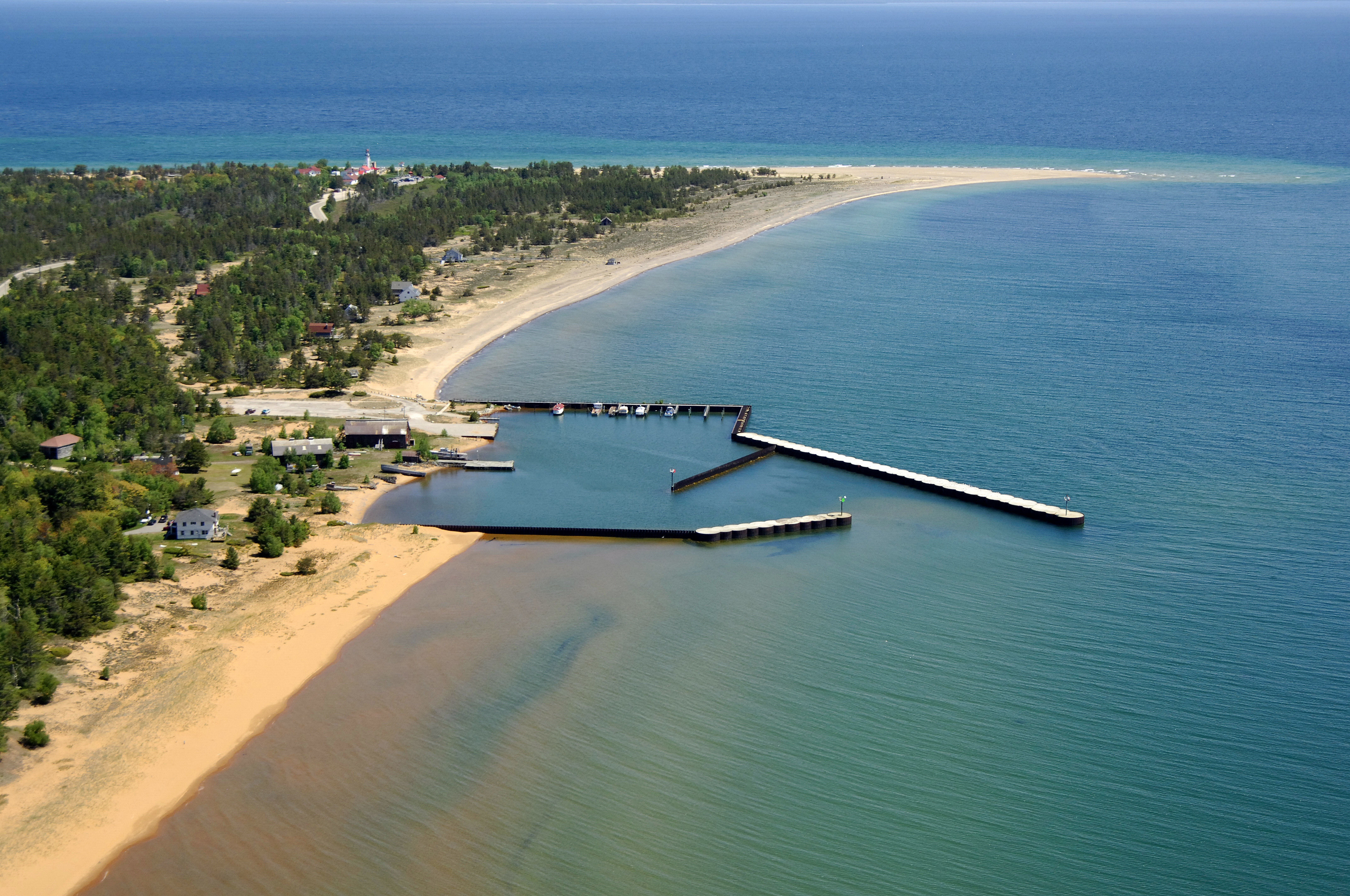 Whitefish point state docks in whitefish point mi united for White fish point