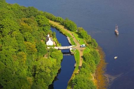 Crinan Ferry Lift Bridge