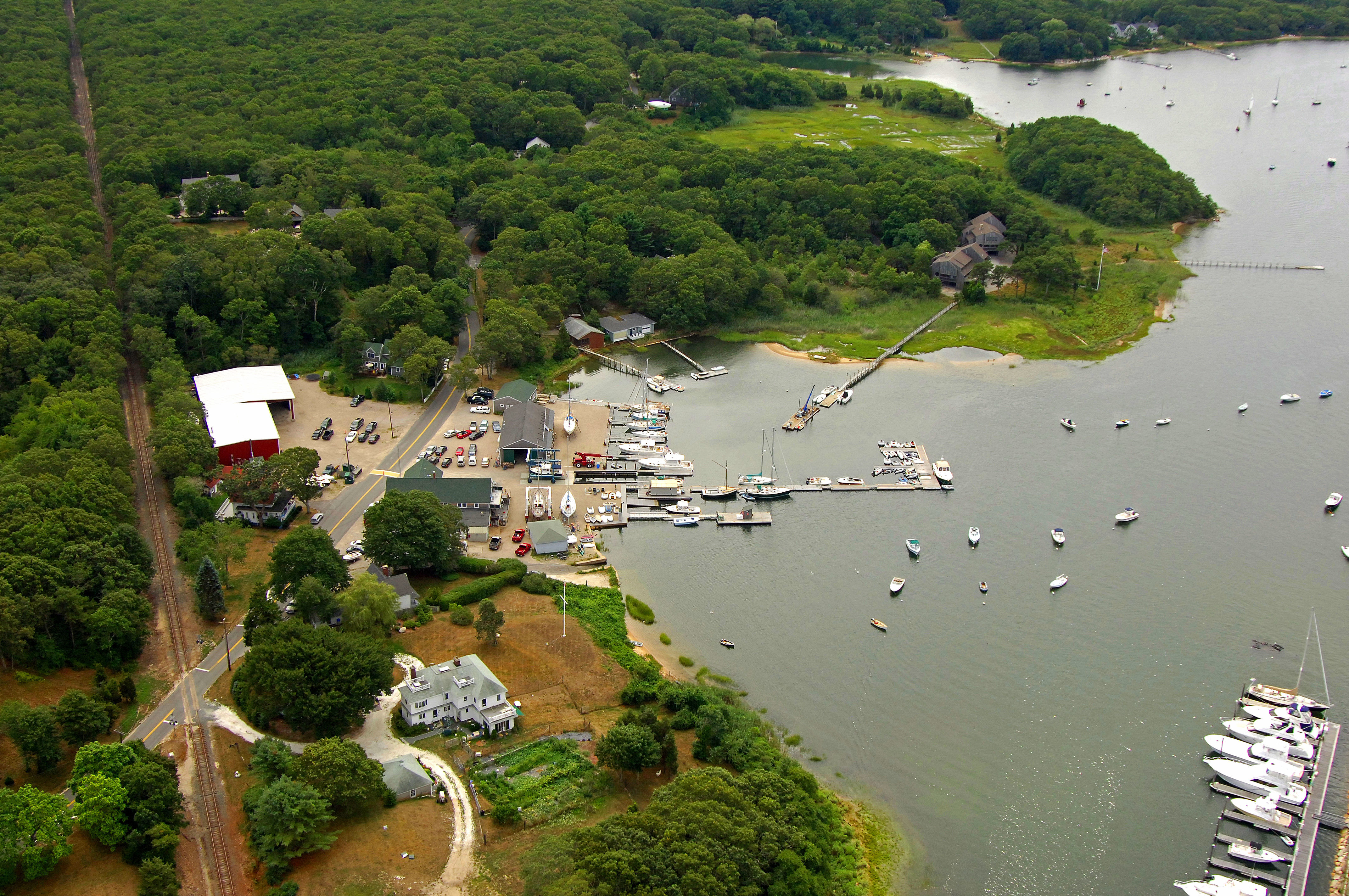 Parker's Boat Yard in Cataumet, MA, United States - Marina