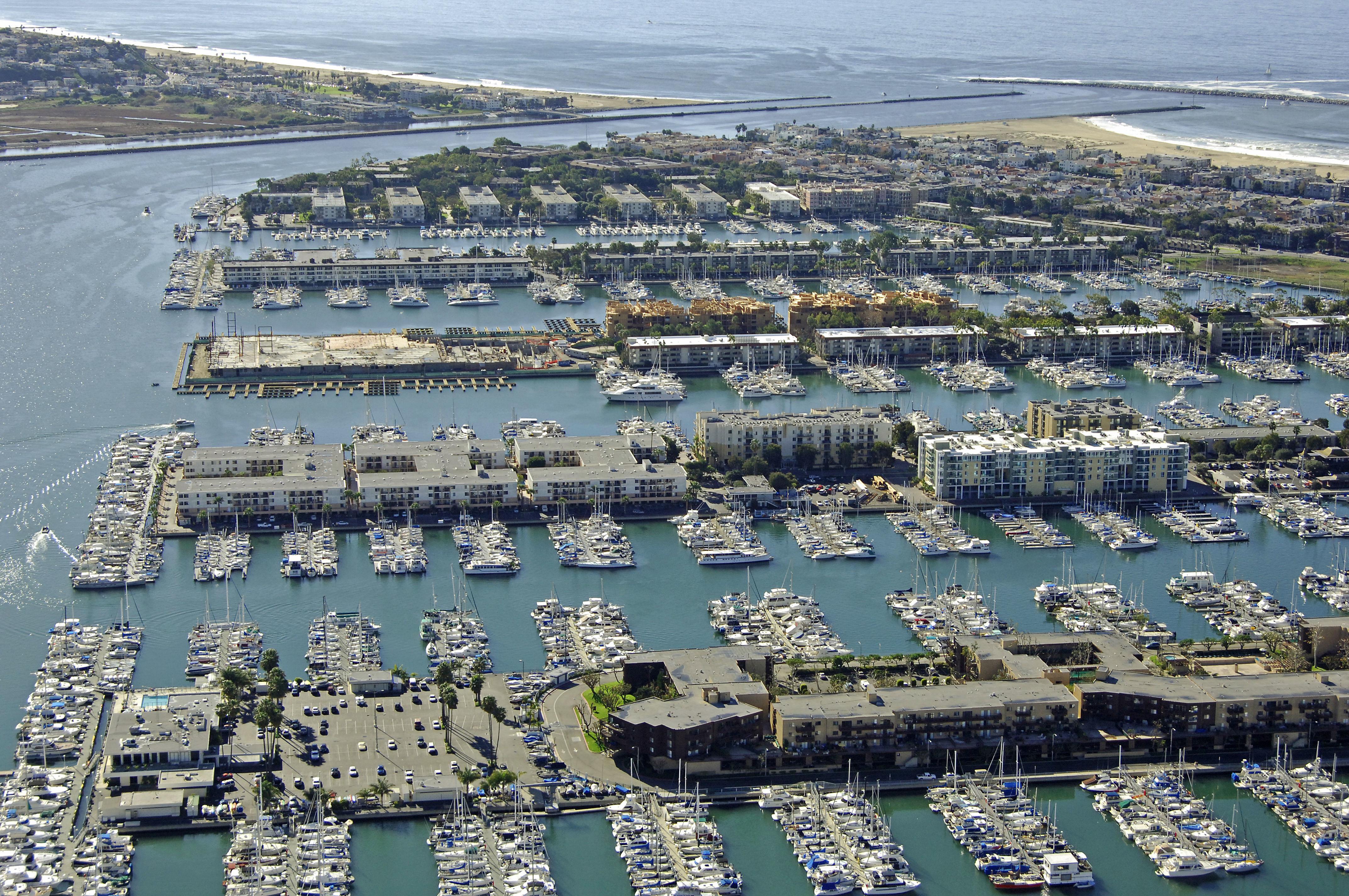 Dolphin Marina in Marina Del Rey, CA, United States ...