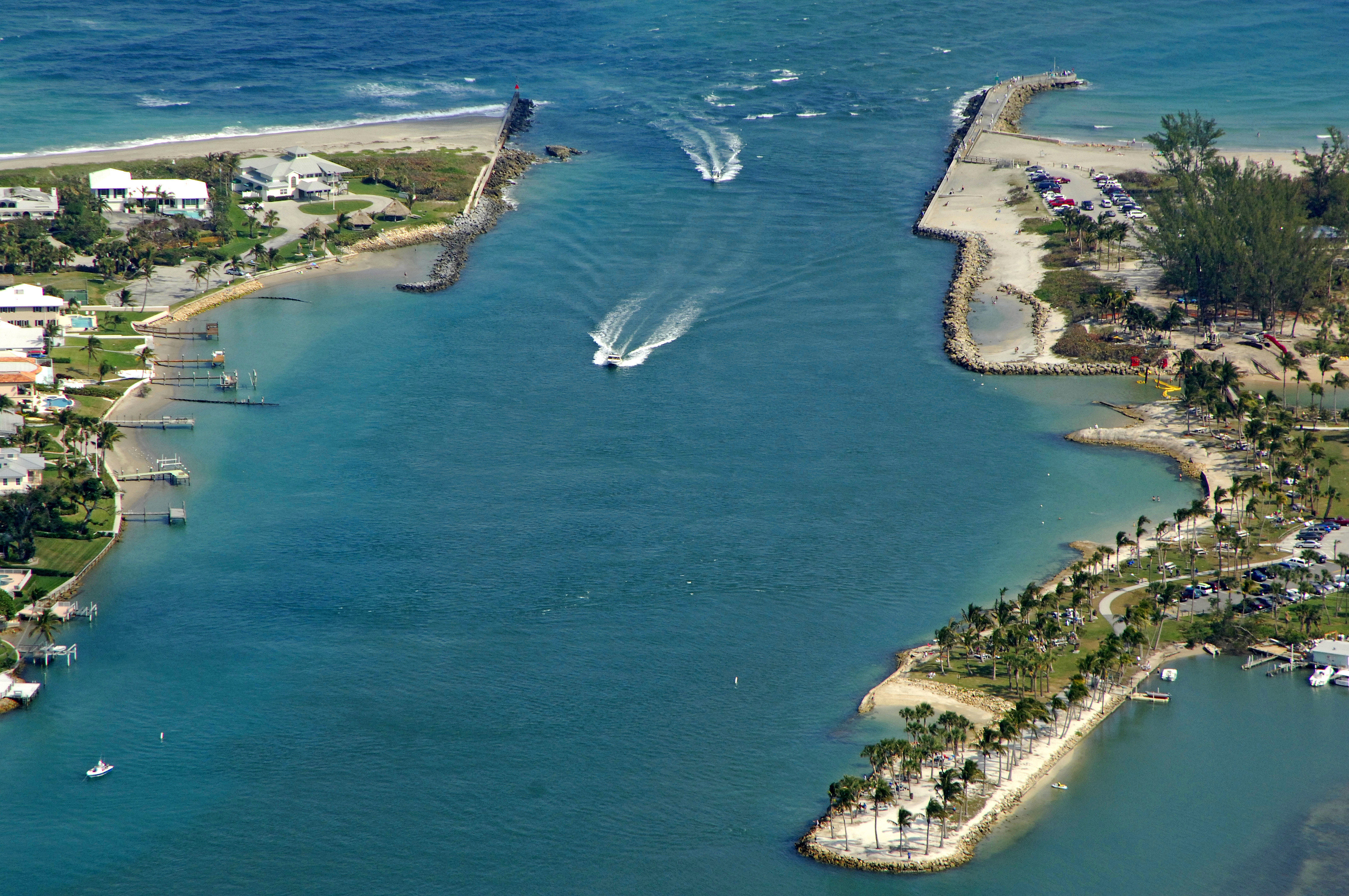 Where Is Jupiter Florida >> Jupiter Inlet In Jupiter Fl United States Inlet Reviews Phone