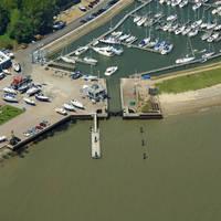 Shotley Marina Lock