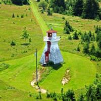 Warren Cove Range Rear Lighthouse