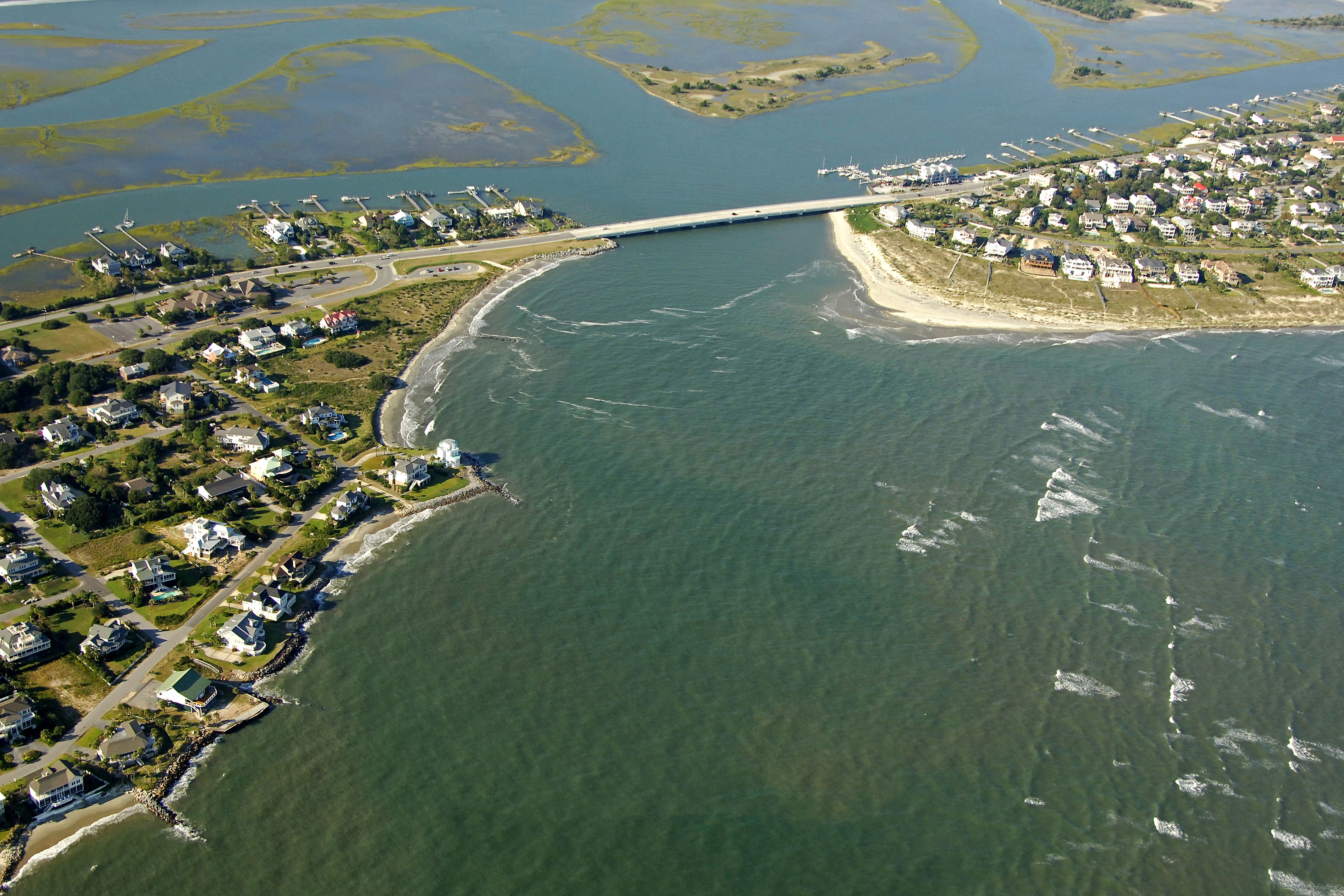 Breach inlet in isle of palms sc united states inlet for Isle of palms fishing