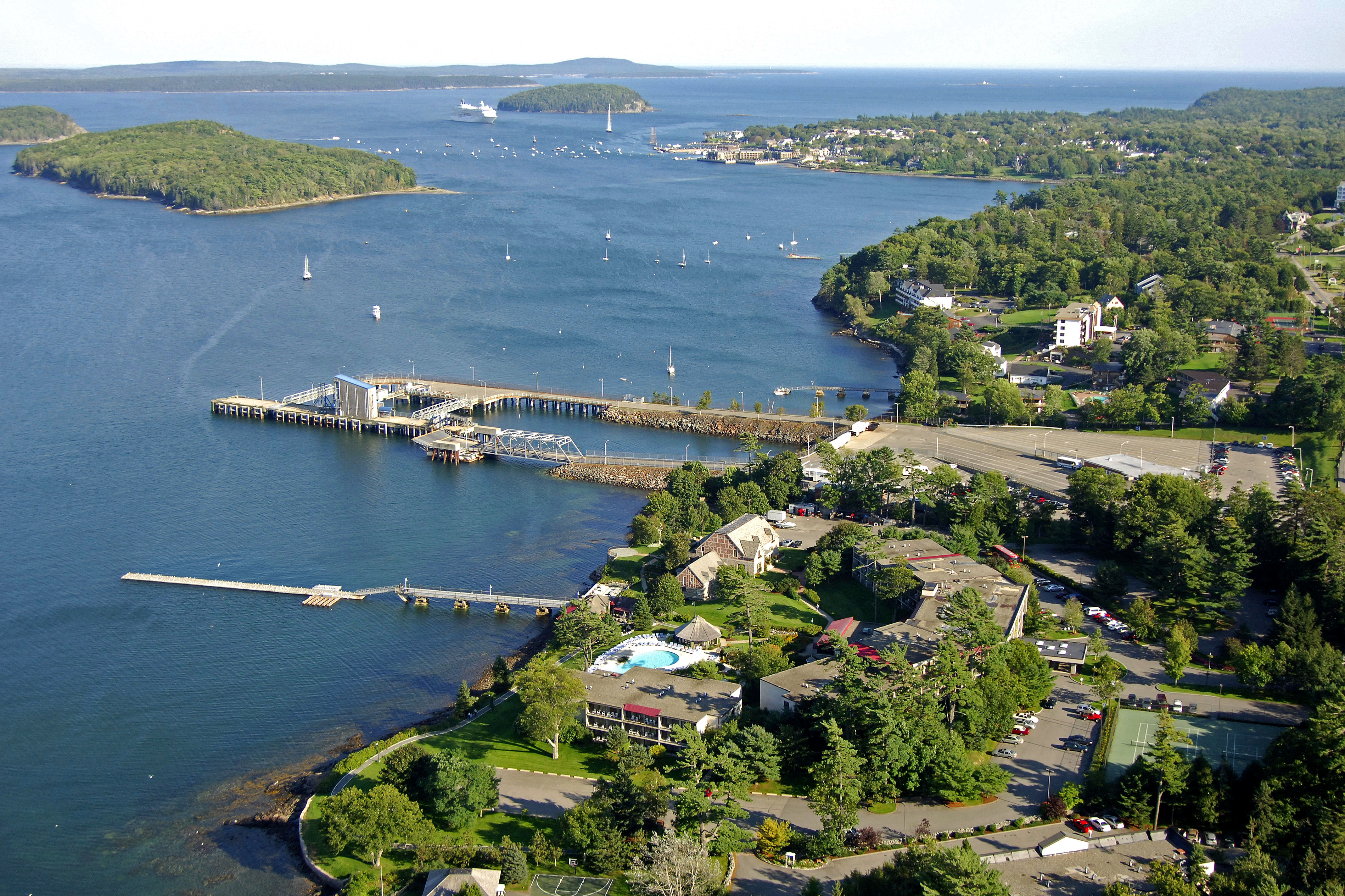 Bar Harbor Maine Hotels >> Bar Harbor Regency Hotel Marina In Bar Harbor Me United