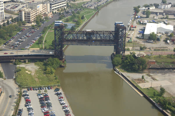 Cleveland RailRoad Lift Bridge 4