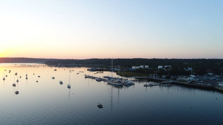 Oyster Bay Marine Center & Cooper Bluff