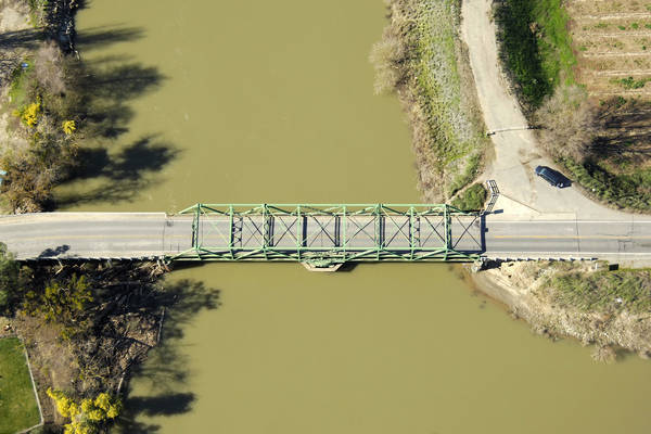 Sutter Slough Swing Bridge