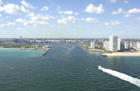 Port Everglades Inlet