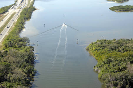 Canaveral Barge Canal West Inlet