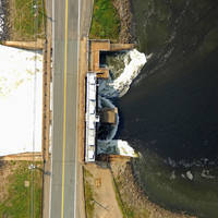 Annapolis Tidal Power Generating Station, South