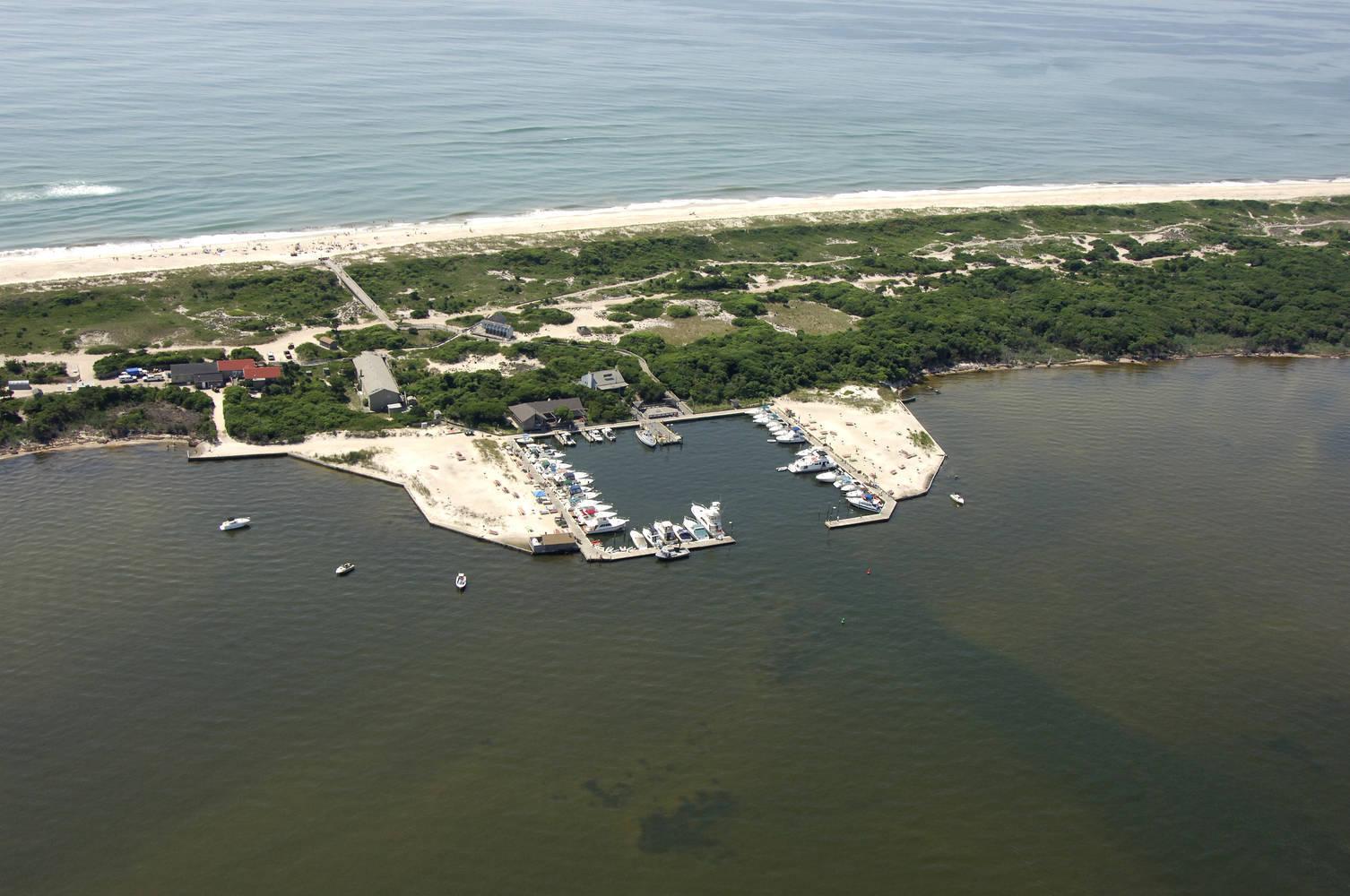 Sailors Haven Marina Fire Island National Seashore, NY slip