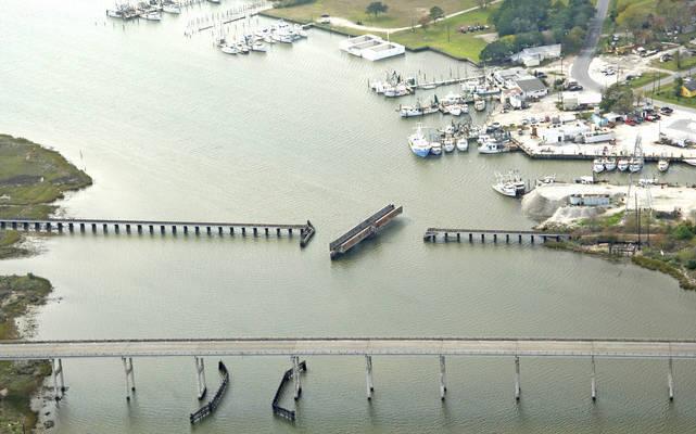 Southern Pacific Swing Bridge