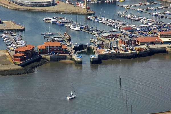 Hartlepool Marina Lock
