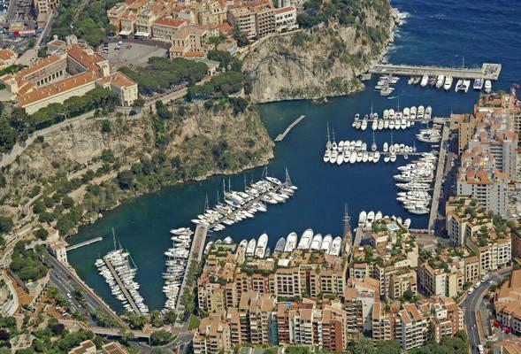 Monaco Port De Fontvieille Marina