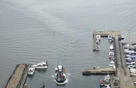 Rorvig Havn Ferry Inlet
