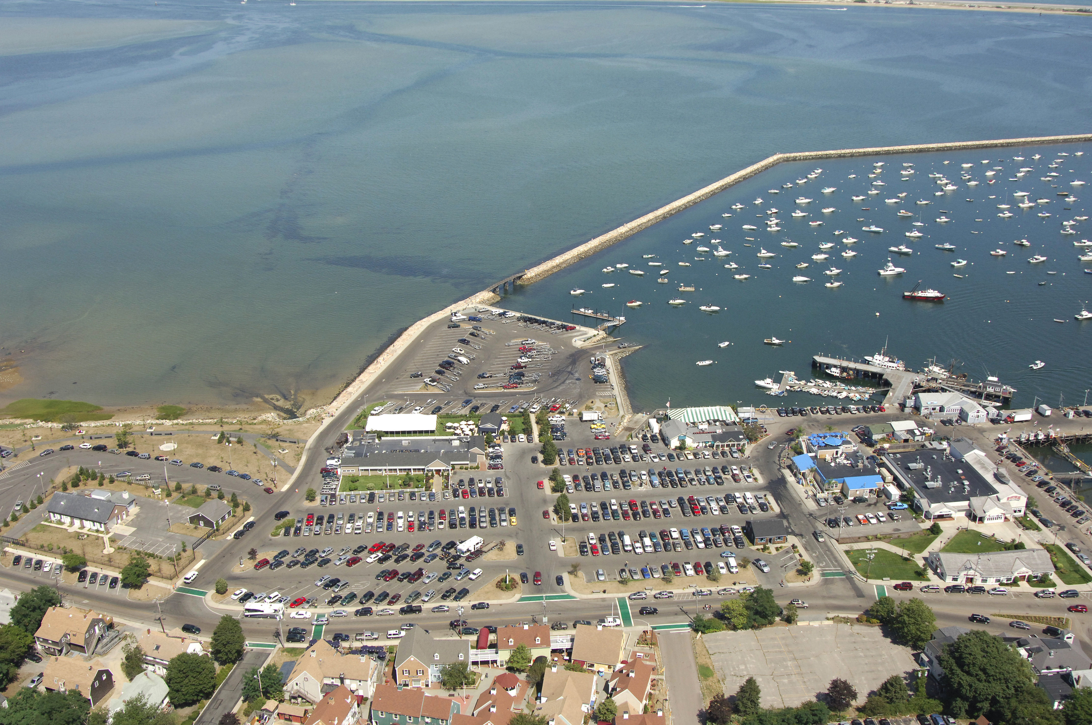 State Boat Ramp In Bourne Ma United States Marina