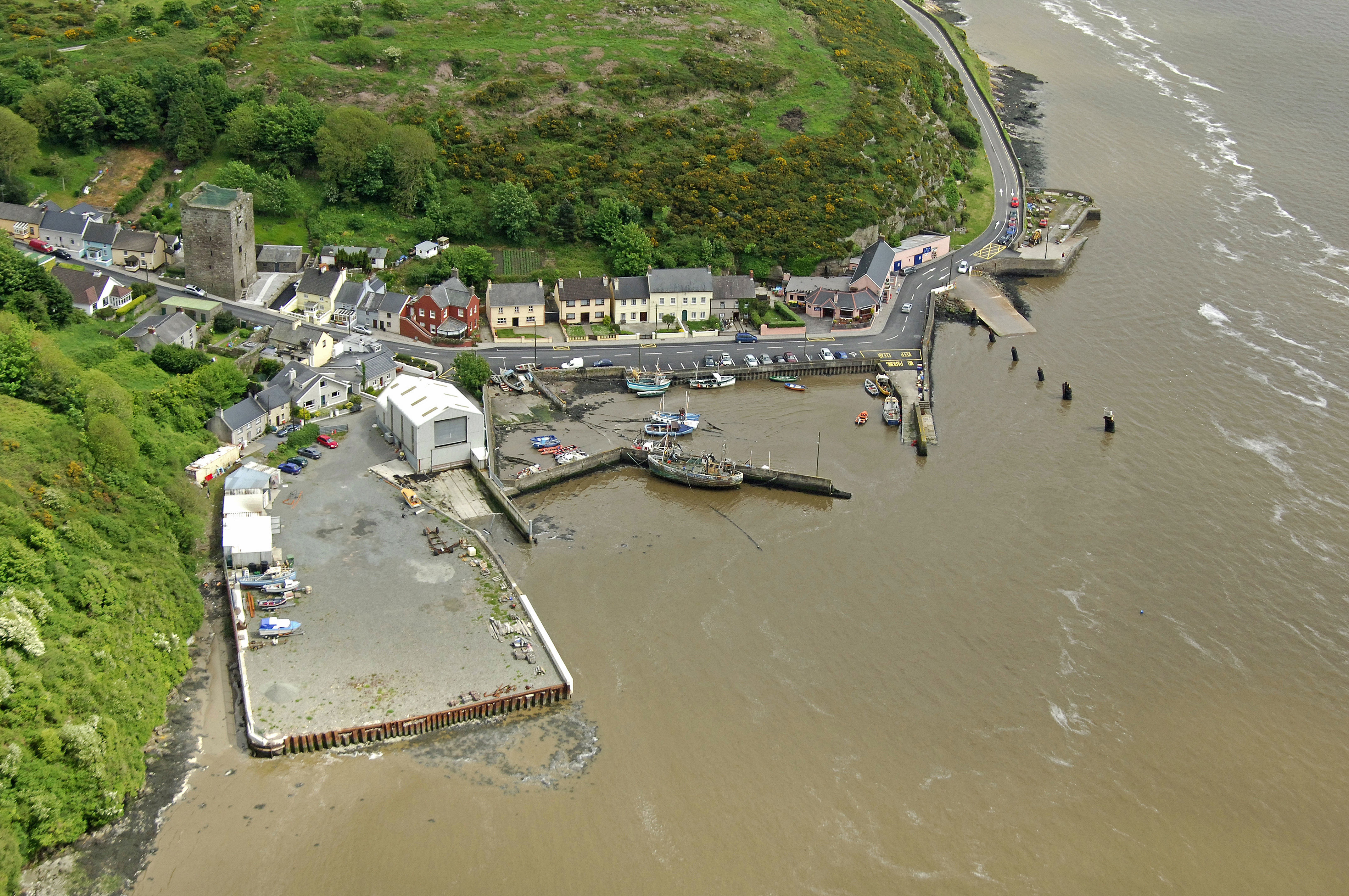 Ballyhack Ferry in Ballyhack, County Wexford or Passage East