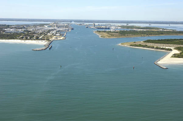 Port Canaveral Inlet