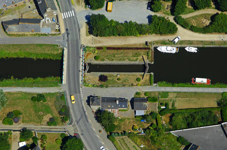 La Rance River Lock South Side