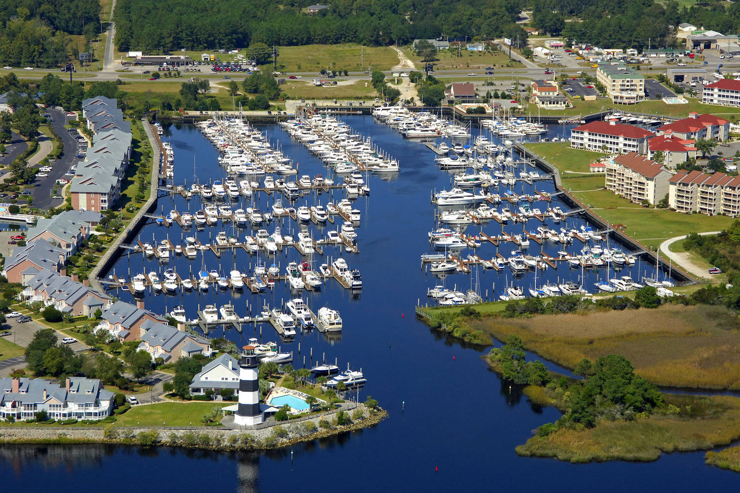 Myrtle Beach Yacht Club Slip Dock Mooring Reservations