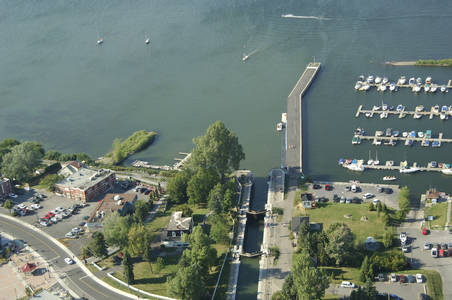 The Chambly Canal Inlet