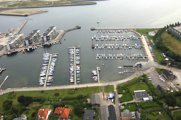 Nyborg Lystbådehavn, Syd