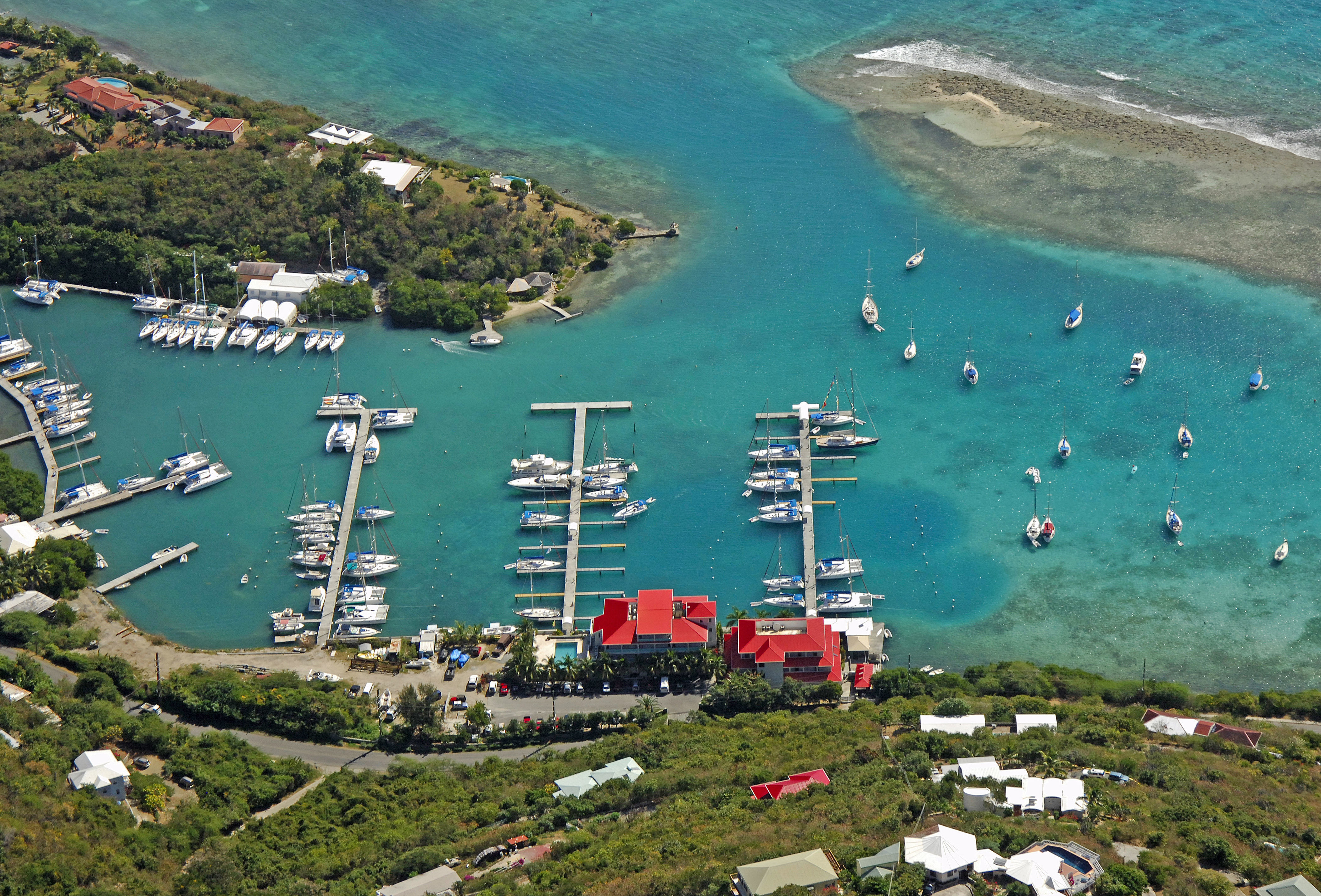 Hodge's Creek Marina in Maya Cove, Tortola, British Virgin