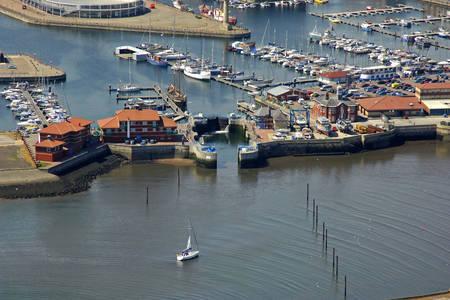 Hartlepool Marina Lock