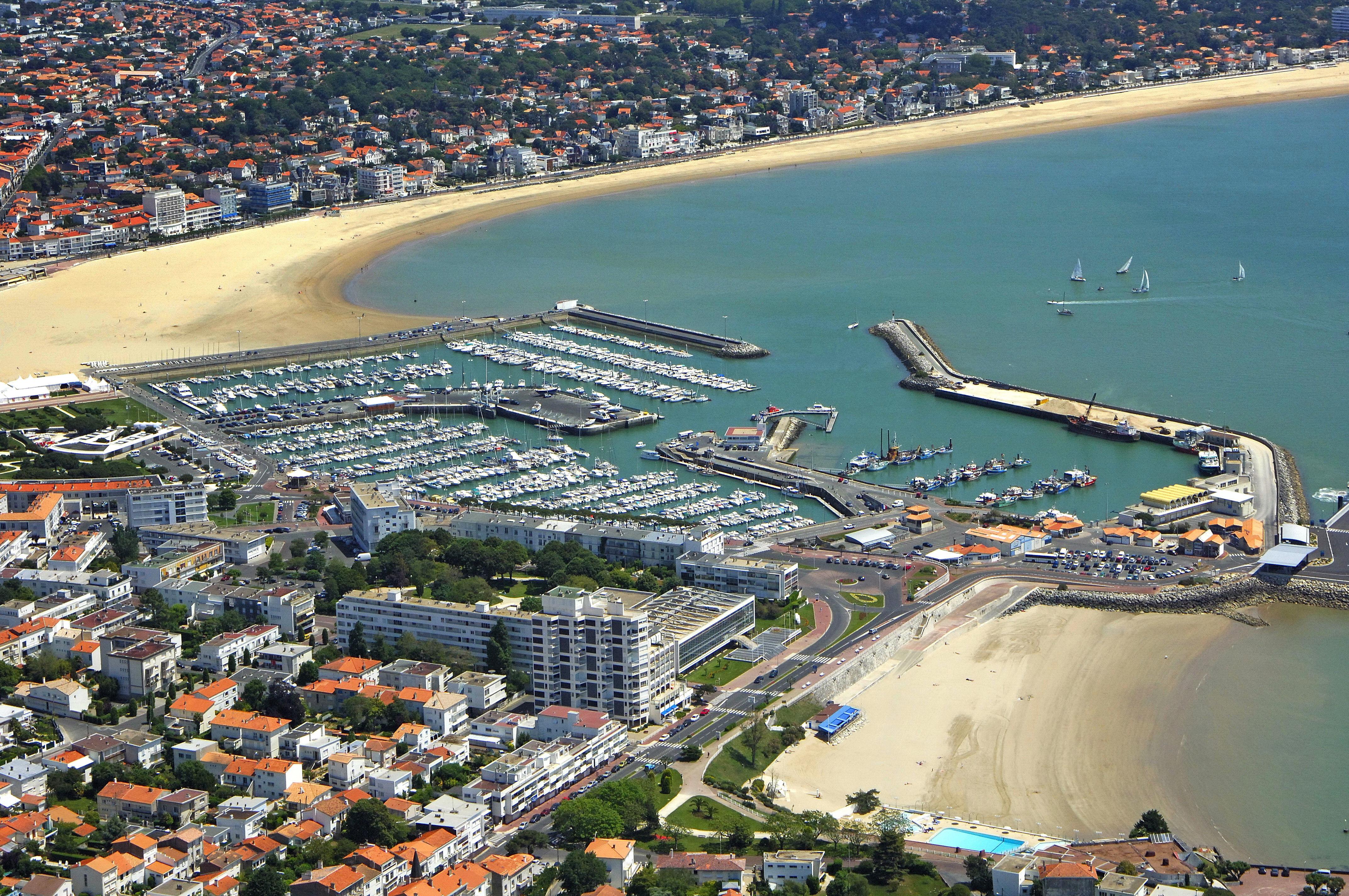 Royan Marina in Royan, Poitou-Charentes, France - Marina