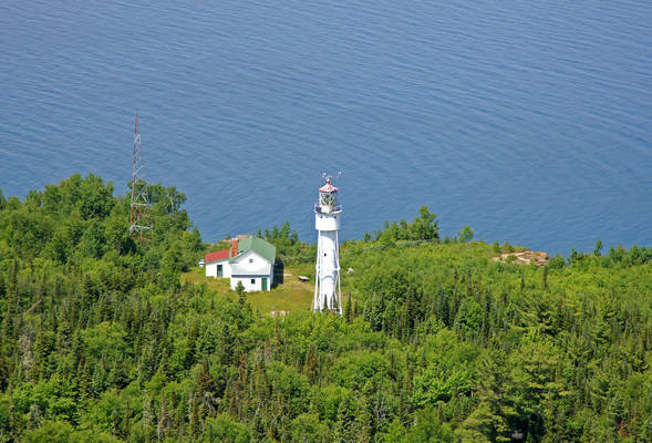 Devils Island Light