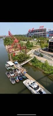 Downtown Nashville Municipal Docks