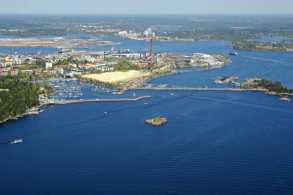 Kotka Sapokanlahti Harbour