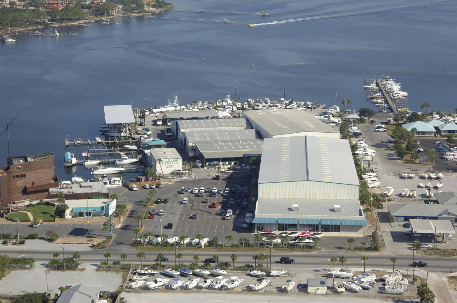Thomas Drive Treasure Island Marina Panama City Florida