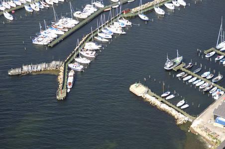 Kalvehave Havn Ferry Inlet