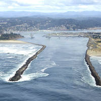 Yaquina River Inlet