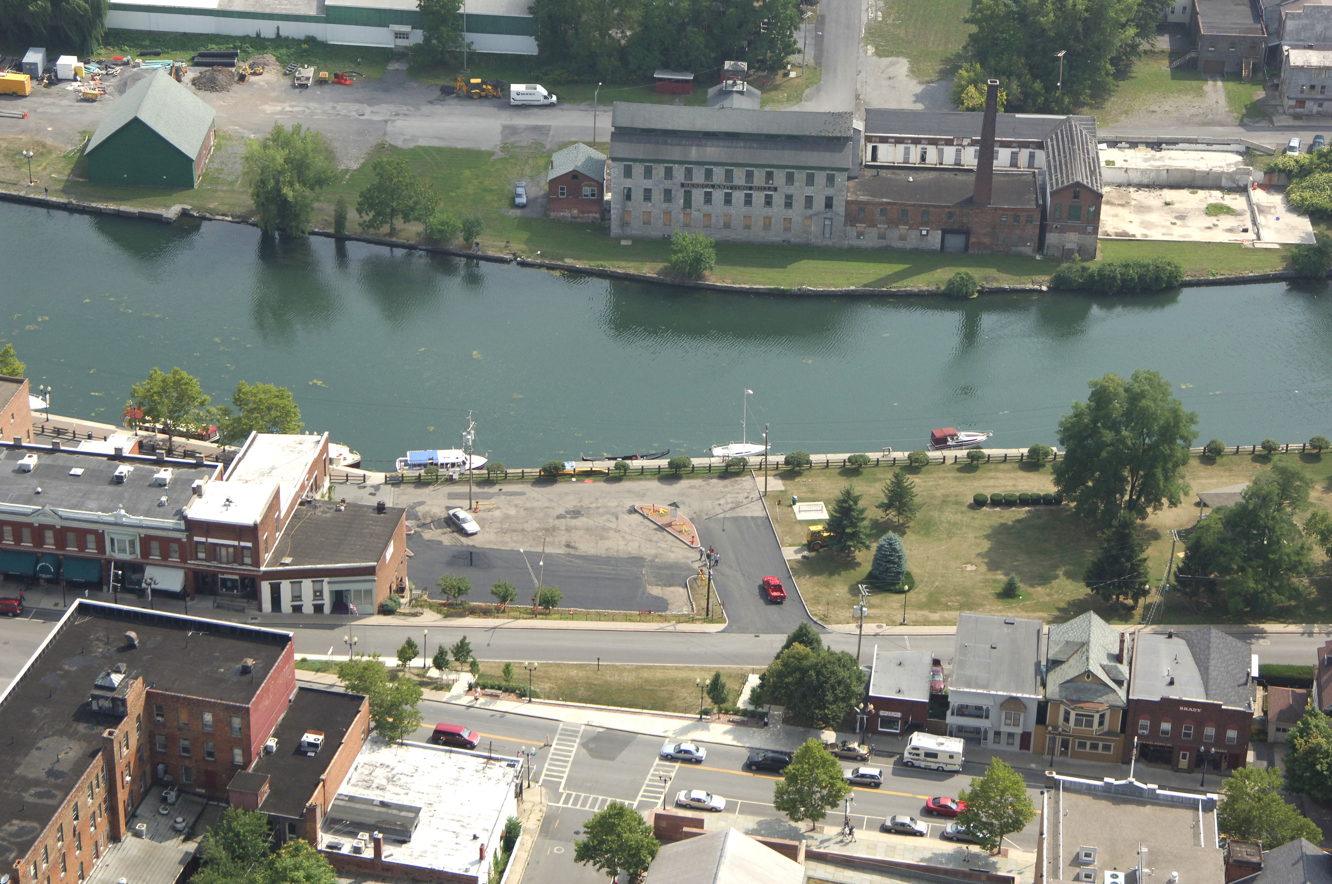 Citaten Seneca Falls : Seneca falls harbor in ny united states