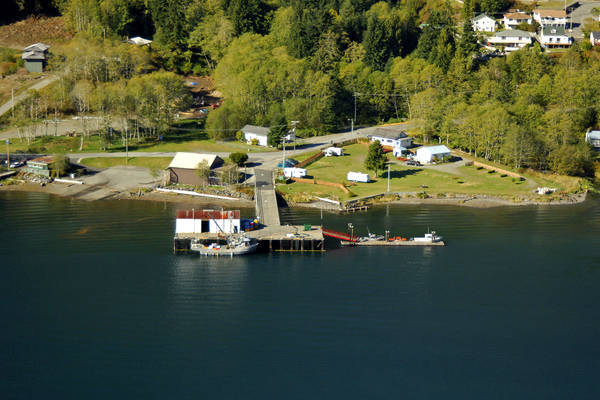 Tahsis Government Wharf