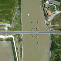The Sea Bridge at Maritime Canal Of Marans