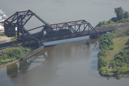 Ashatabula RailRoad Bascule Bridge