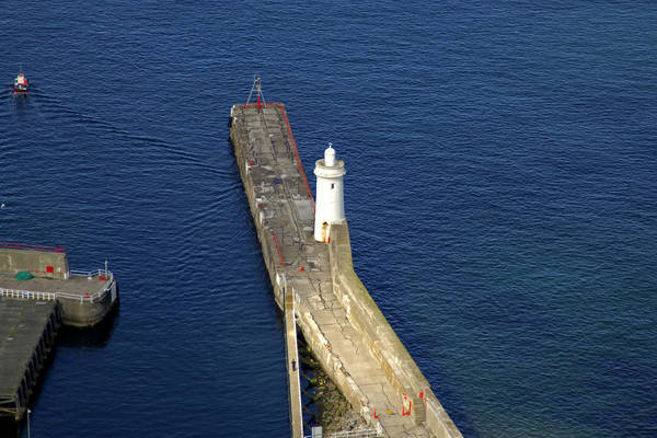 Buckie North Breakwater Light