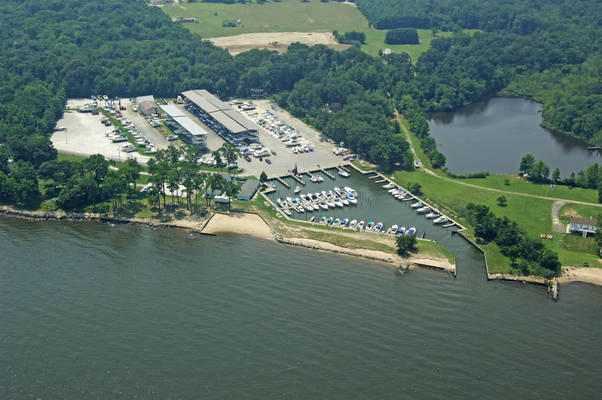 Atlantic Marina on the Patapsco