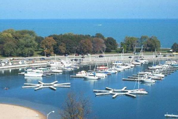 Belmont Harbor, the Chicago Harbors