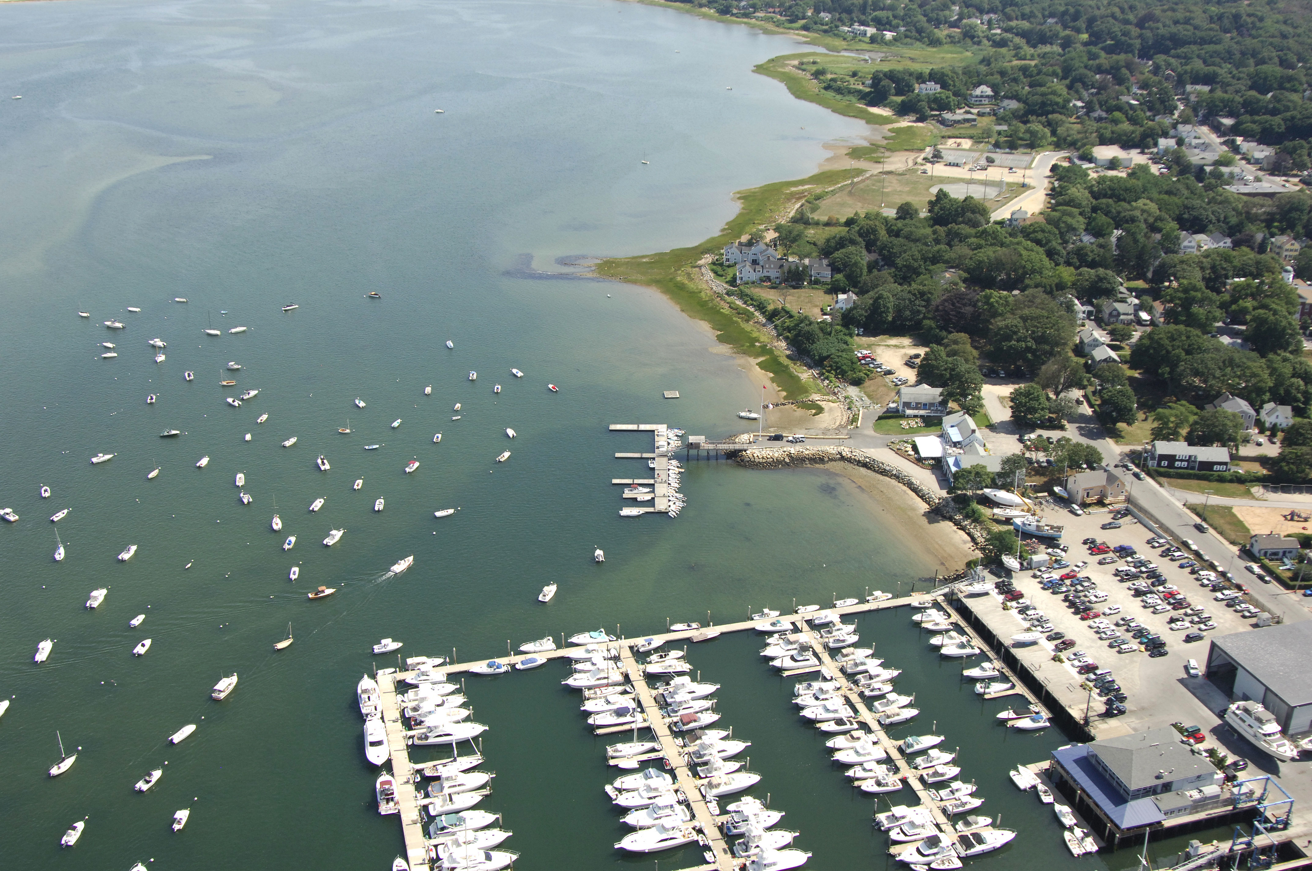Plymouth Yacht Club In Plymouth Ma United States