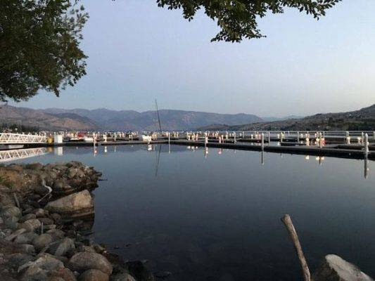 Sunset Marina Lake Chelan