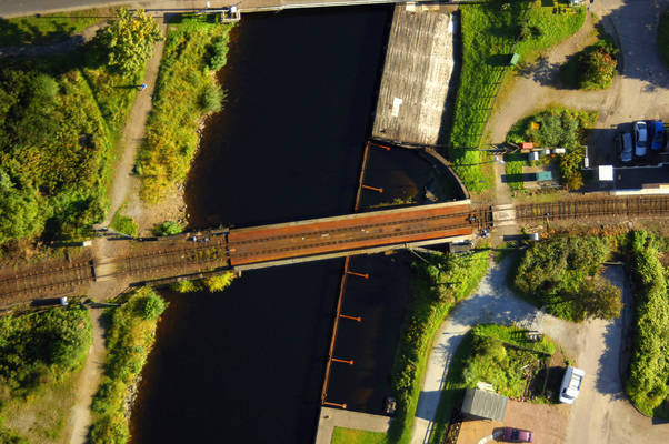 Banavie Swing Railroad Bridge