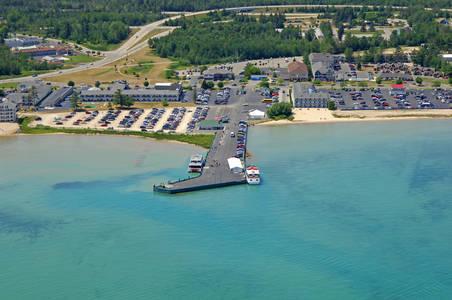 Mackinaw City Arnold Line Ferry